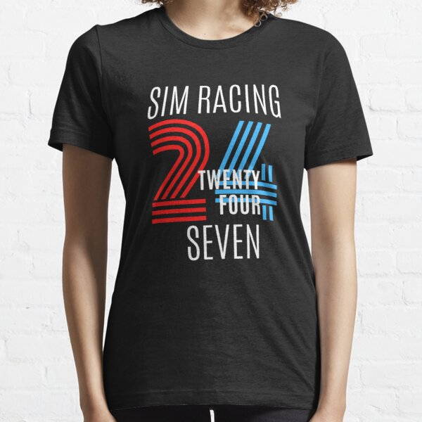 SIM RACING 24/7 TEE Essential T-Shirt