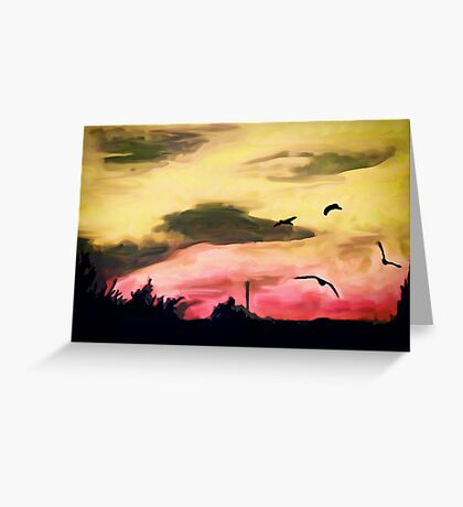 Whistle down the winds II Greeting Card