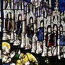 East Window Stained Glass by John Dalkin