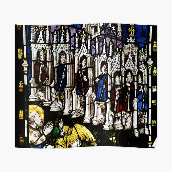 East Window Stained Glass Poster