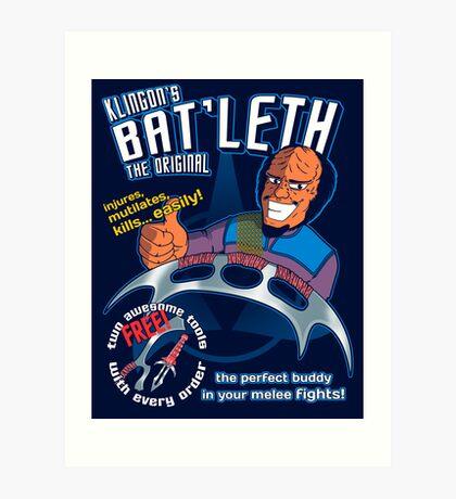 Bat'leth (the original) Art Print