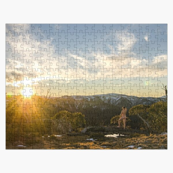 Naked Doodle - Dinner Plain 2 Jigsaw Puzzle