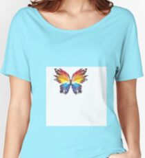 Abstract butterfly Women's Relaxed Fit T-Shirt
