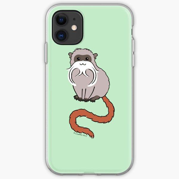Emperor Tamarin iPhone Soft Case