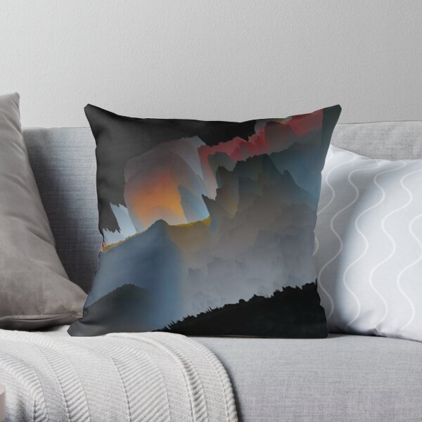 Abstract acrylics patterns Abstract art collection design no. 022 Throw Pillow