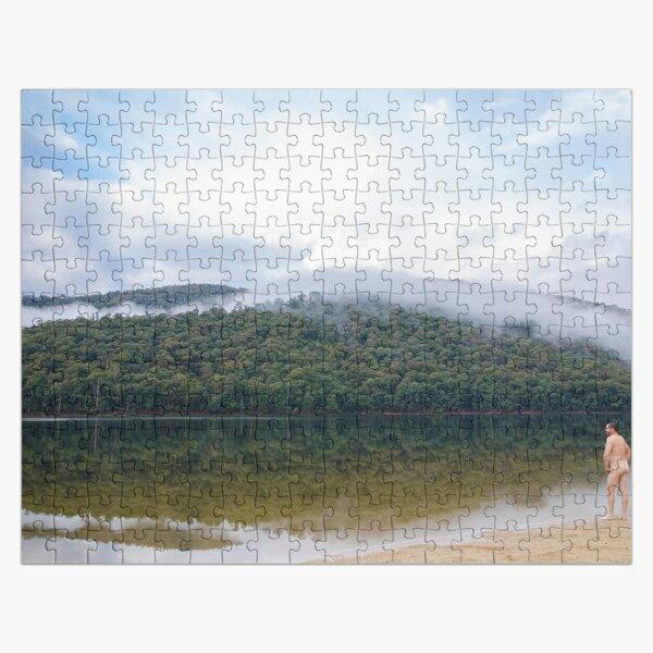 Naked Doodle - Lake William Hovell Jigsaw Puzzle