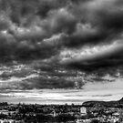 Storm Over Edinburgh by Sue Fallon Photography
