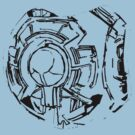 343 Guilty spark halo t shirt by Sam Mobbs