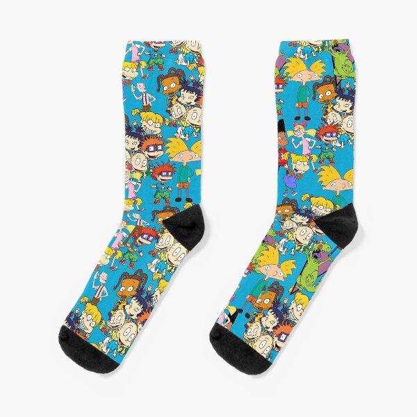 Nickelodeon Rugrats und hey Arnold Socken
