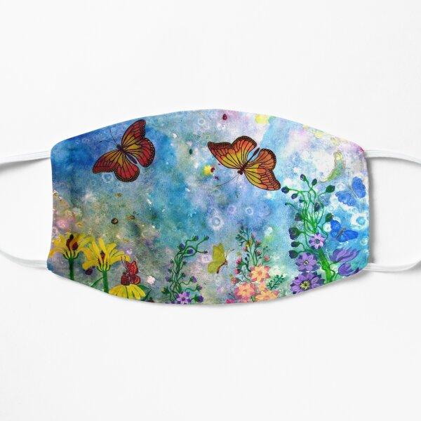 Butterfly Garden (rectangle) Flat Mask