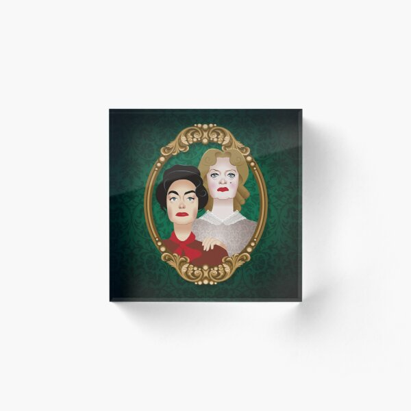 The Hudson sisters Acrylic Block