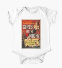 Vintage poster - Girls in the Night One Piece - Short Sleeve
