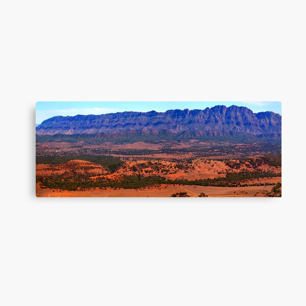 Off the Bluff Canvas Print