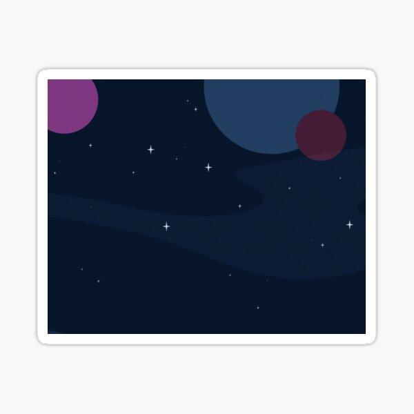 Planet Sticker