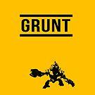Halo grunt IPhone case by Sam Mobbs