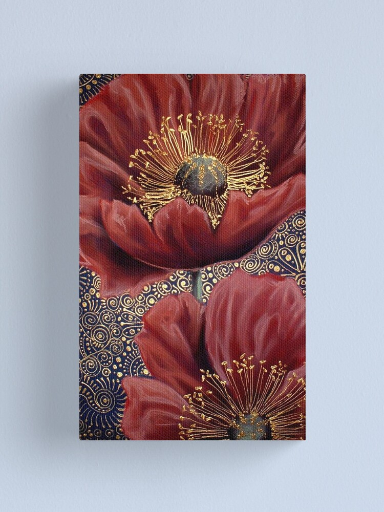 Alternate view of Red Poppies II Canvas Print