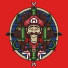 Mario's Melancholy by ShayLeiArt