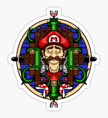 Mario's Melancholy Sticker