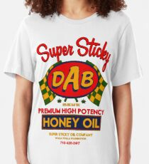 DAB-Honey oil-3 Slim Fit T-Shirt