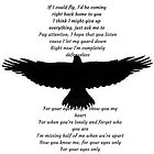 """One Direction  - """"If I Could Fly"""" by Annelise Dominello"""