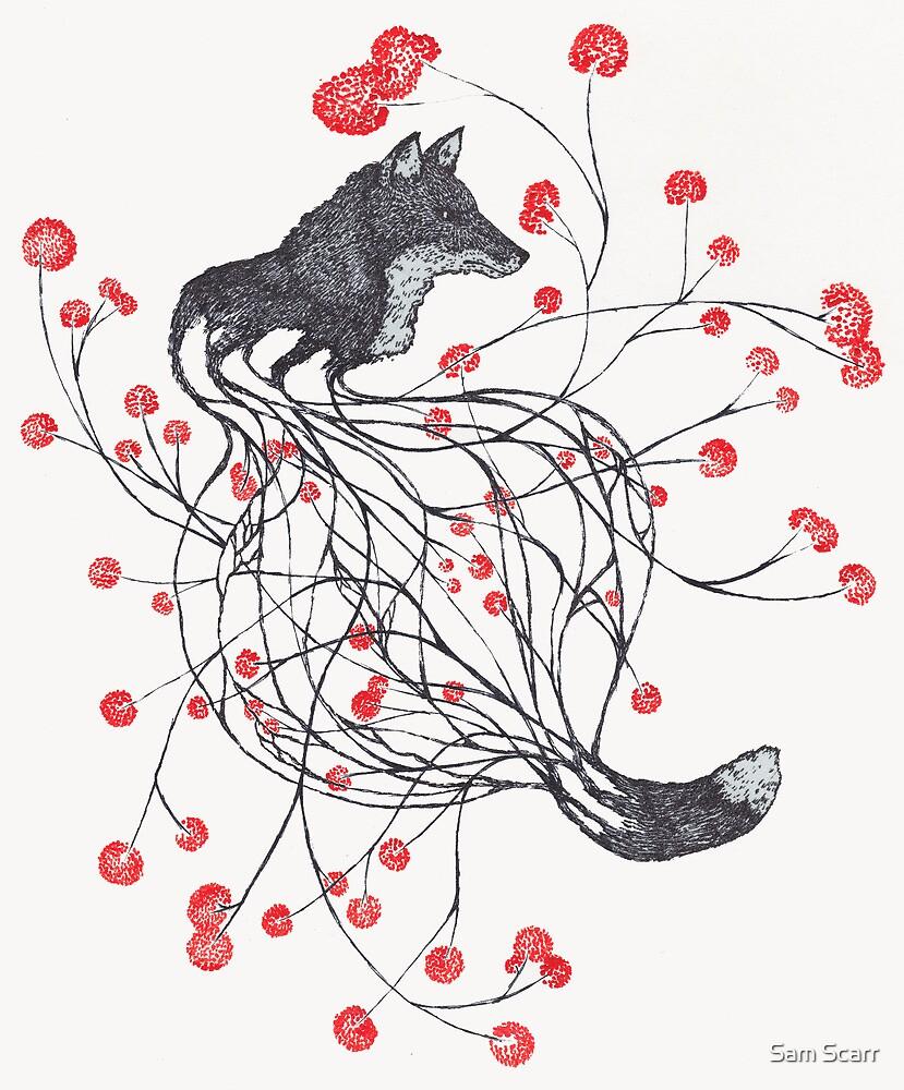 Blossom Fox by samclaire
