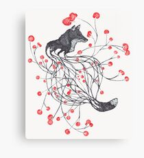 Blossom Fox Canvas Print