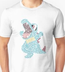 Totodile Typography T-Shirt