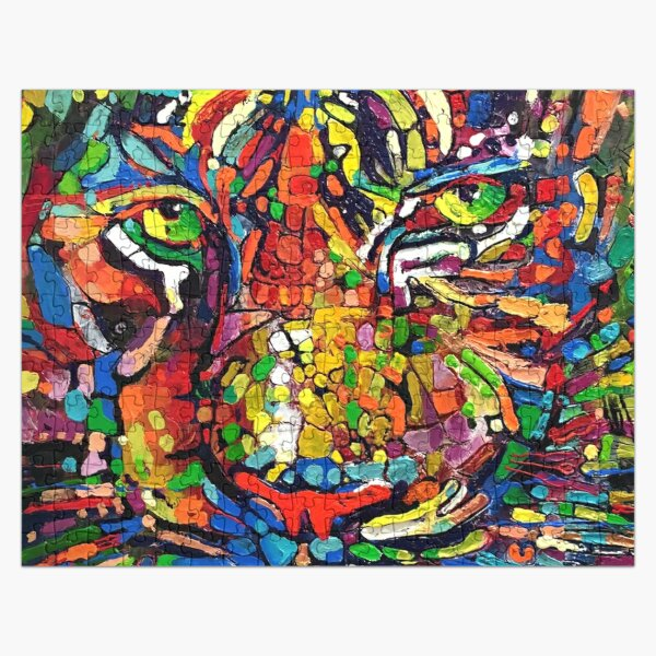 TIGER MOSAIC Jigsaw Puzzle