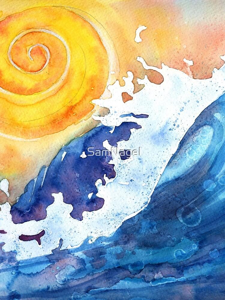 Ocean Wave by SamNagel