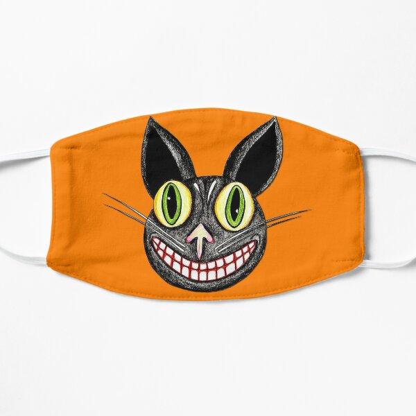 Vintage Halloween Cat Mask