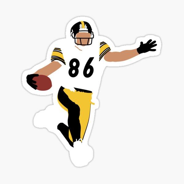 Hines Ward Touchdown Sticker