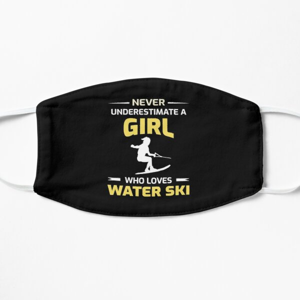 Water Skiing girl Ski Sports Lover Gift Mask