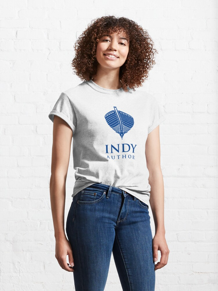 Alternate view of Indy Author Classic T-Shirt