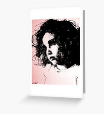 Ava In Wonderland (Digital Update) Greeting Card