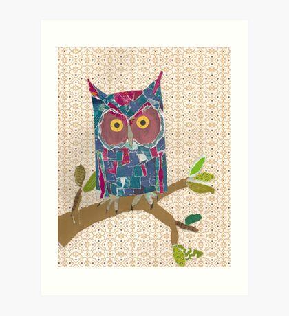 Avery's Owl Art Print