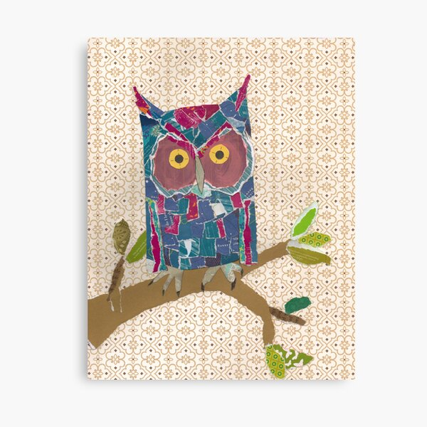 Avery's Owl Canvas Print