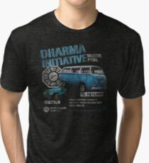 Dharma Initiative Motor Pool (LOST) Tri-blend T-Shirt