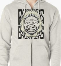 shark usa by rogers brothers Zipped Hoodie