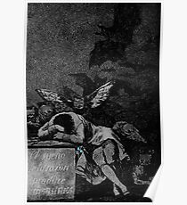 The Sleep Of Reason Produces Monsters (1797-1798) {SAD ART} Poster