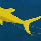 Swimmin' with the great yellow shark by Alessandro Bonaccorsi