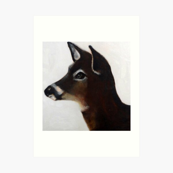 Highwater Deer, 2015 Art Print