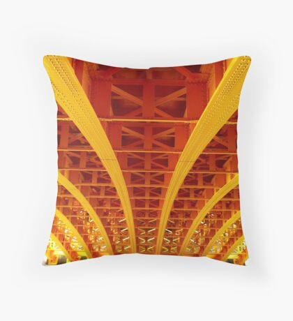 Sunshine bridge Throw Pillow