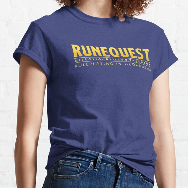 RuneQuest: Roleplaying in Glorantha Logo Classic T-Shirt