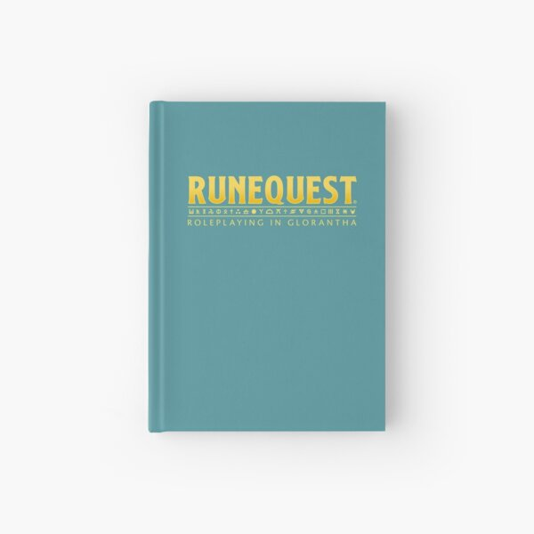 RuneQuest: Roleplaying in Glorantha Logo Hardcover Journal