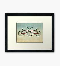 2 bikes 3 wheels Framed Print