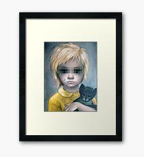 The Stray {SAD ART} Framed Print