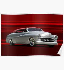 1950 Mercury Custom Convertible Poster