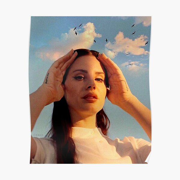 Lana In The Hot Sun Poster