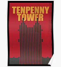 Travel poster Tenpenny Tower Poster