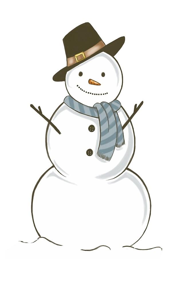 Snowman by ShelbyStronger